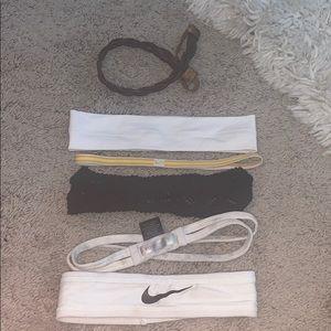 Nike Accessories - Lot of six headbands